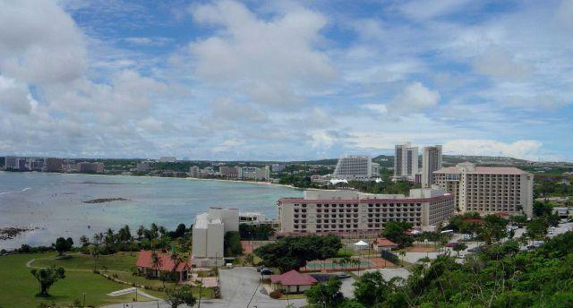 Tumon Bay resort area. Picture