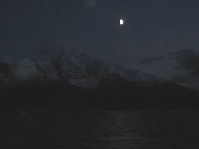 Night-time cruising in the Aleutian Islands Picture