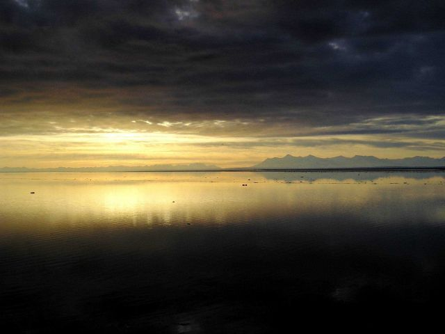 Cook Inlet sunset Picture