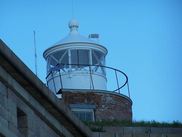 The Fort Wadsworth Lighthouse. Picture