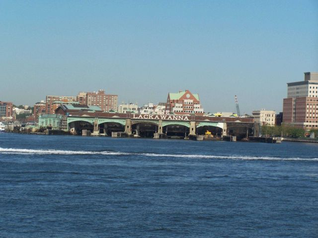 The Lackawanna railroad-ferry terminal at Hoboken. Picture