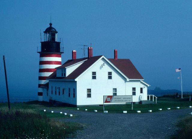 West Quoddy Head Lighthouse Picture