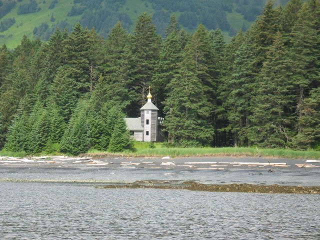 Russian Orthodox Church shrine ? at Monk's Lagoon Picture