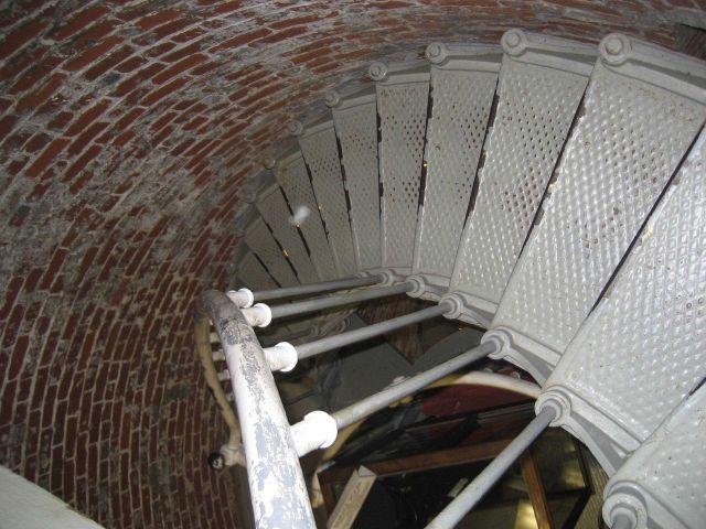 Heceta Head Lighthouse spiral stairway Picture