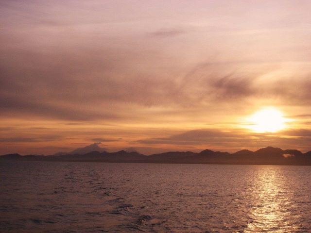 Alaska Peninsula sunset Picture