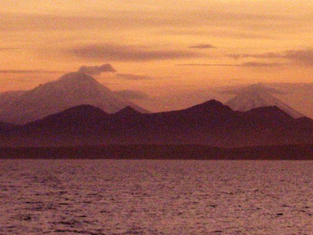 Alaska Peninsula sunset Picture