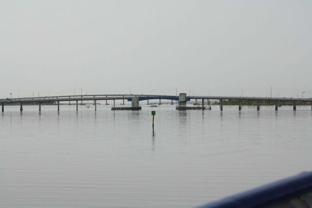 Approaching Florida A1A bridge at Fort Pierce from the north Picture