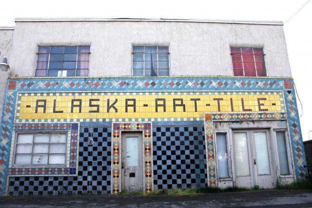 Alaska Art Tile Picture
