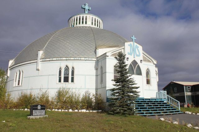 The Catholic Church at Inuvik, known as the