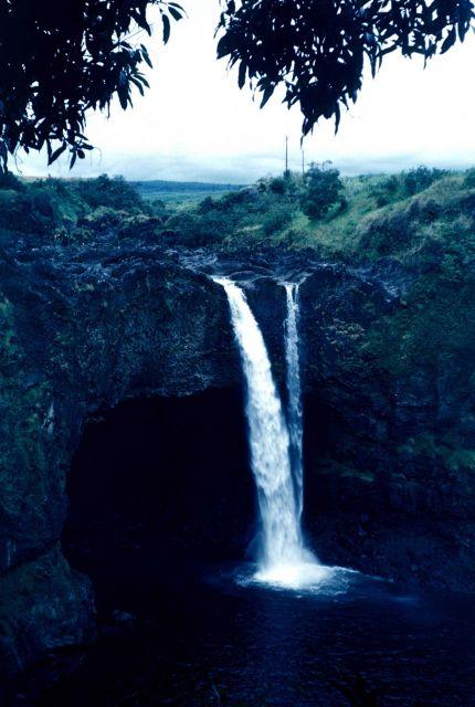 A Hawaiian waterfall. Picture