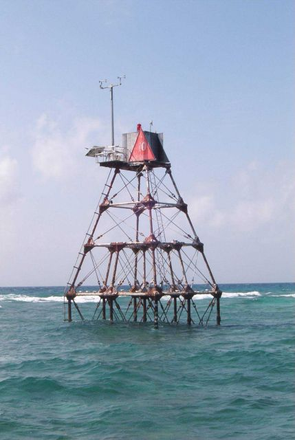 Molasses Reef Lighthouse Picture