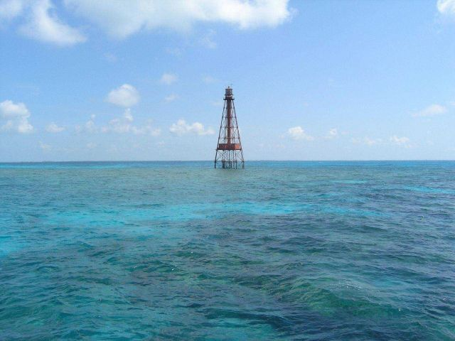 Sombrero Key Lighthouse Picture