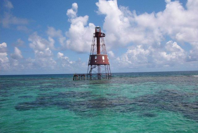 Carysfort Reef Lighthouse Picture