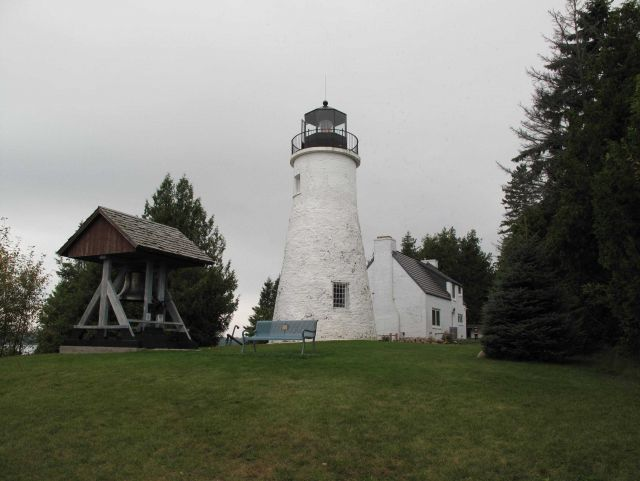Old Presque Isle Lighthouse built in 1840 Picture