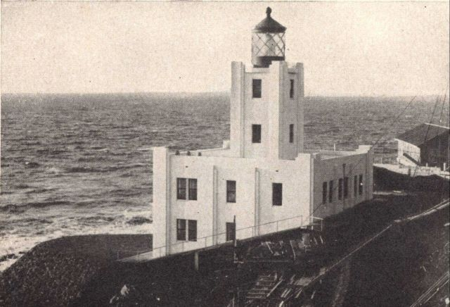 Scotch Cap Lighthouse prior to the earthquake of April 1, 1946 Picture