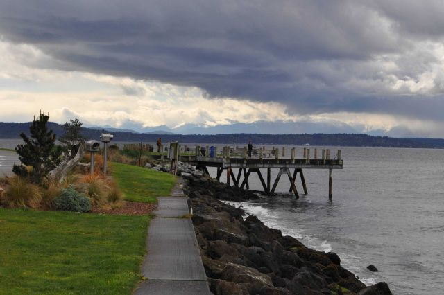 A beautiful little park along Puget Sound. Picture