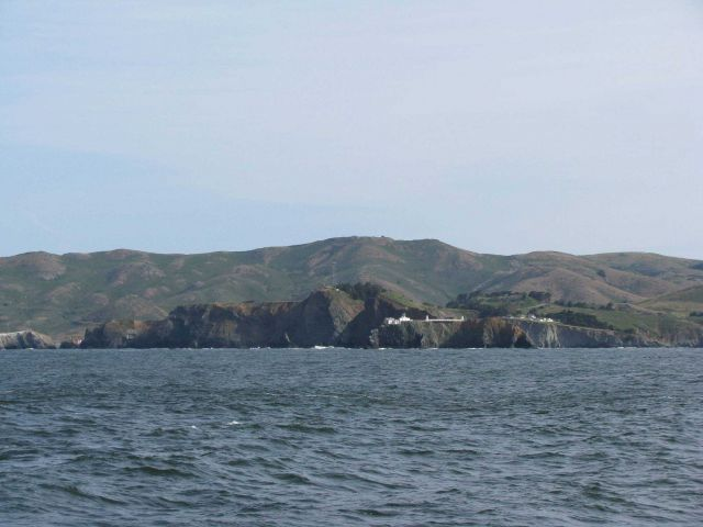 Point Bonita Lighthouse at the north entrance to San Francisco Bay. Picture