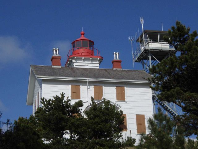 Yaquina Bay Lighthouse. Picture