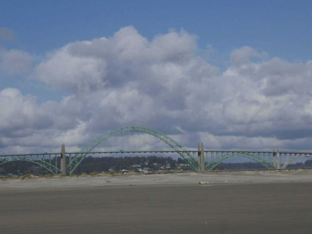 The Yaquina Bay Bridge Picture