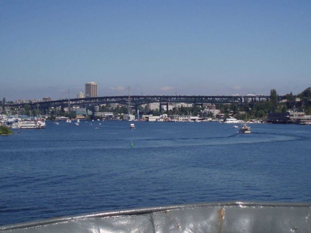 Approaching the George Washington Memorial Bridge from Lake Union Picture