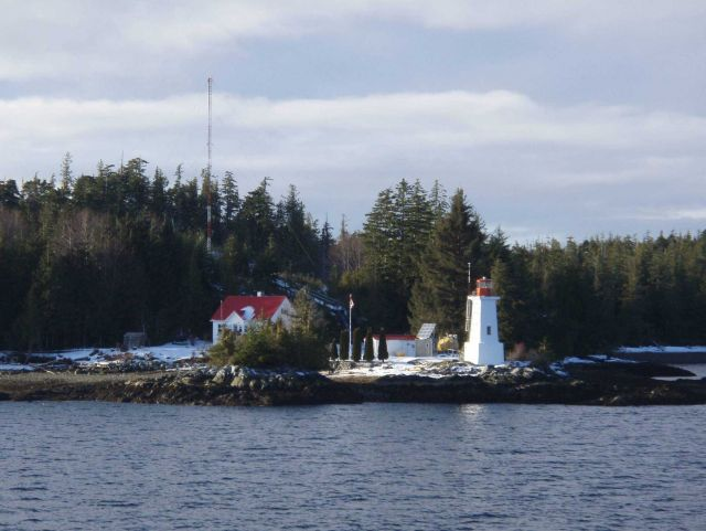 Dryad Point Lighthouse, British Columbia. Picture