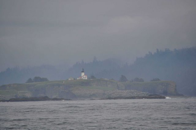 The lighthouse on Tatoosh Island. Picture