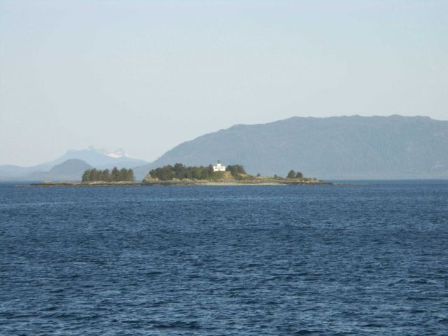 Guard Island Lighthouse. Picture