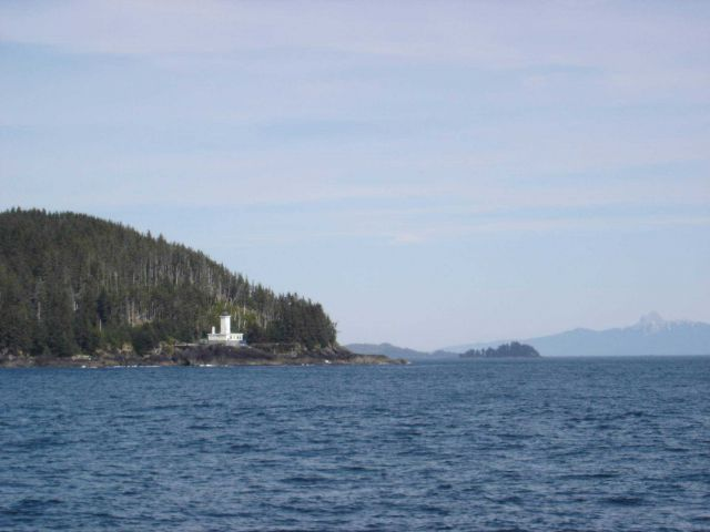 Cape Decision Lighthouse. Picture
