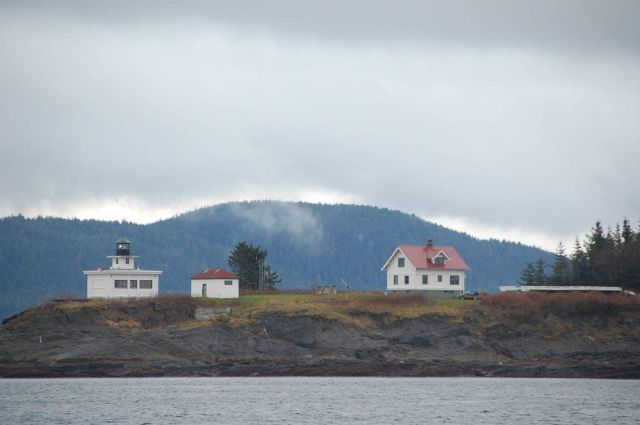 Point Retreat Lighthouse, to the NW of Juneau on Chatham Strait. Picture