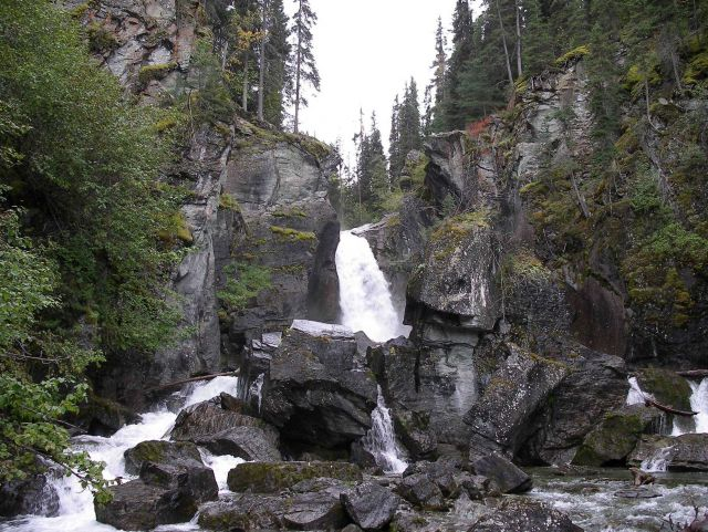 Valdez area waterfall. Picture