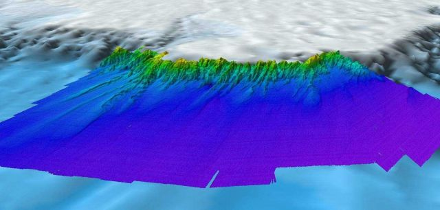 Continental slope of the western Alaska Beaufort Sea. Picture