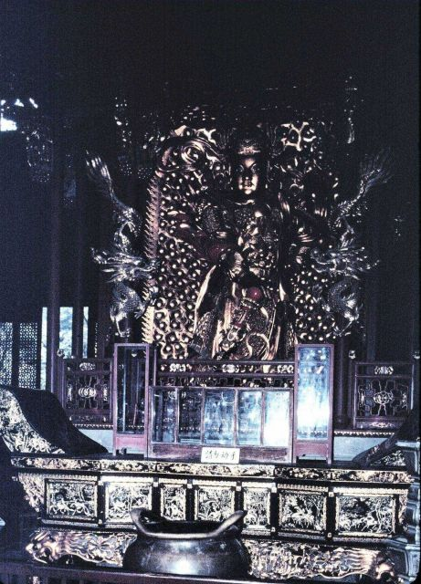 Decorative metalwork in Buddhist temple Picture