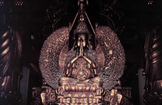 Statues of Buddha. Picture