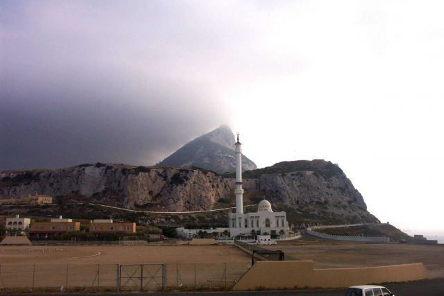 The mosque at Point Europa on Gibraltar. Picture