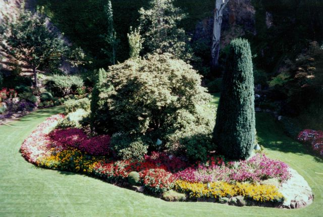 Butchart Gardens. Picture