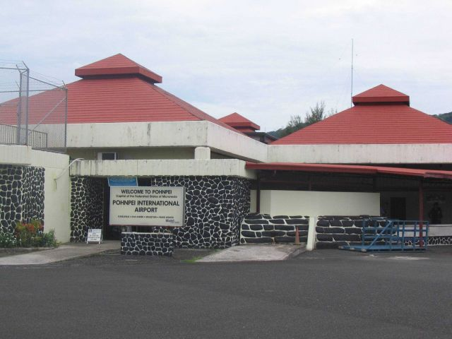 Pohnpei International Airport. Picture