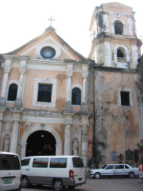 An entrance to San Augustin Church. Picture