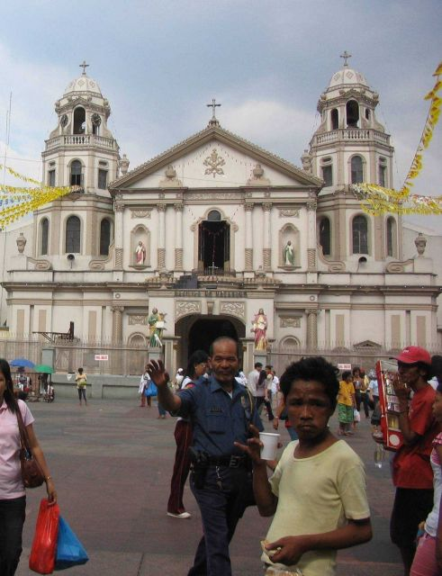 Quiapo Church and Square. Picture
