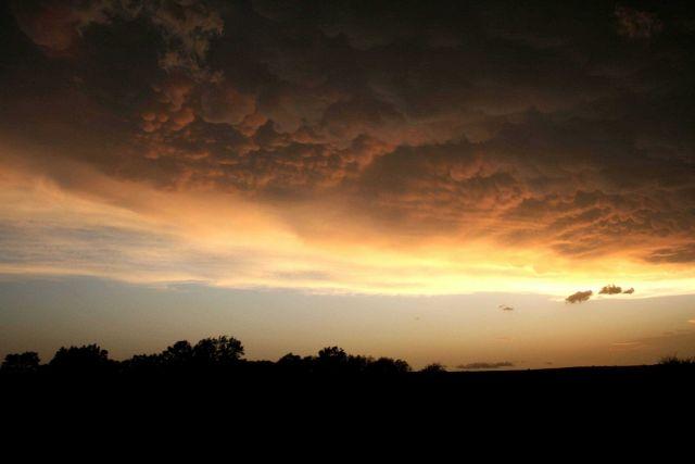 Mammatocumulus sunset Picture