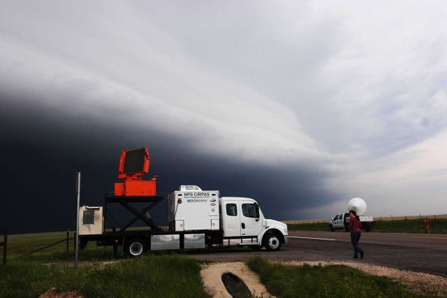 Center for Interdisciplineary Remotely-Piloted Aircraft Studies Mobile Weather Radar -2005 Picture