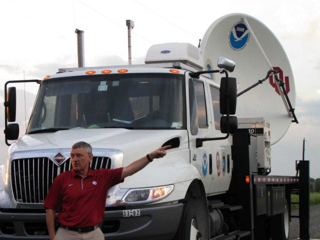 Don Burgess, retired NSSL scientist, pioneered the concept of
