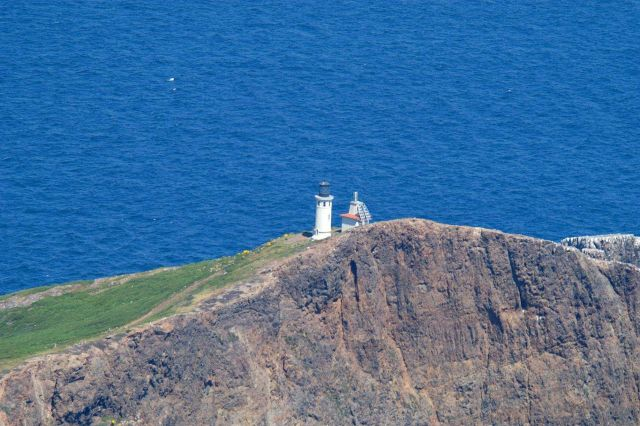Aerial view of the lighthouse on Anacapa Island Picture