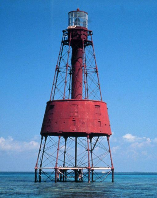 Carysfort Reef Lighthouse. Picture
