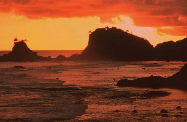 Sunset view at Fagatele Bay Picture