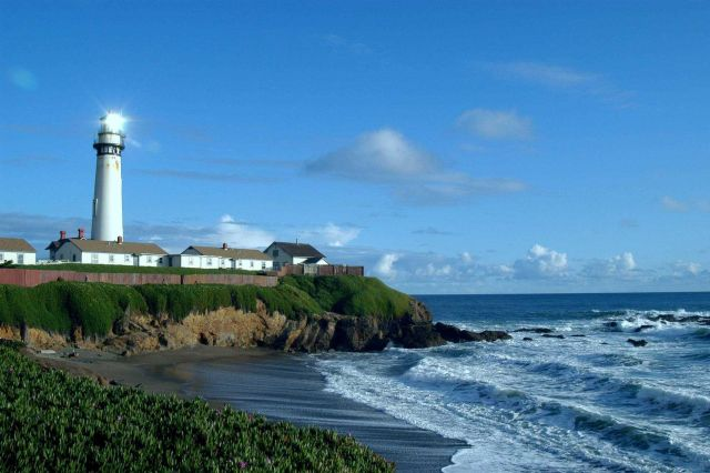 Pigeon Point Lighthouse. Picture