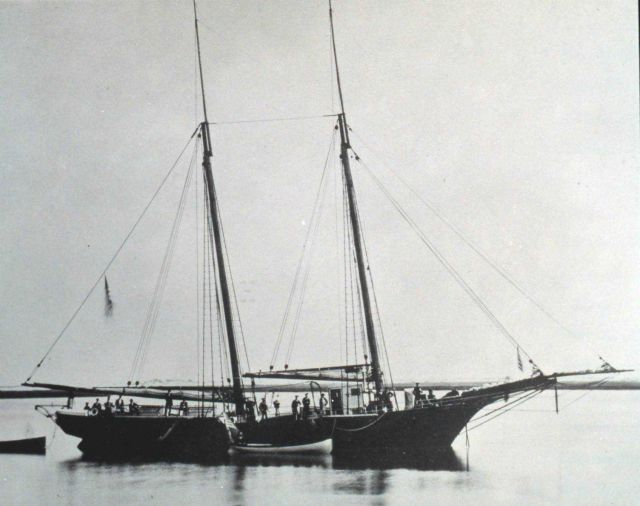 Coast and Geodetic Survey Schooner EARNEST Picture