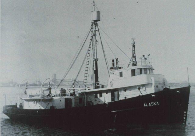 Fish and Wildlife Service Patrol Boat ALASKA. Picture
