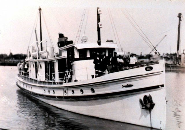 Fish and Wildlife Service Patrol Boat PELICAN. Picture
