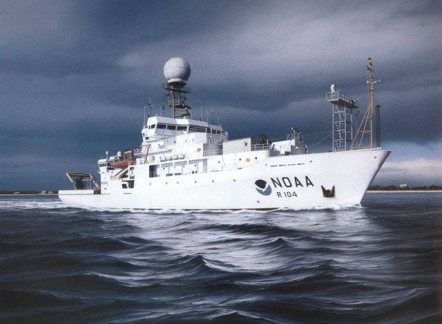 Painting of NOAA Ship RONALD H Picture