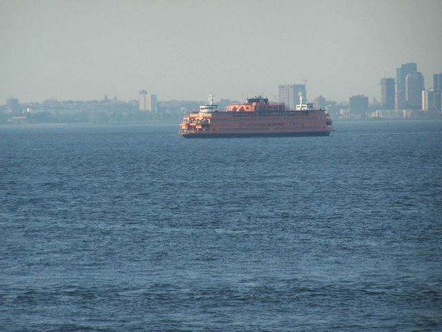 The Staten Island Ferry. Picture